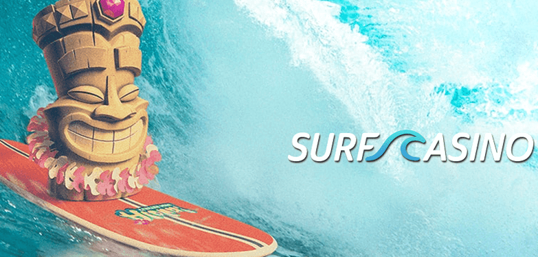50 Free Spins for any deposit at Surf Casino
